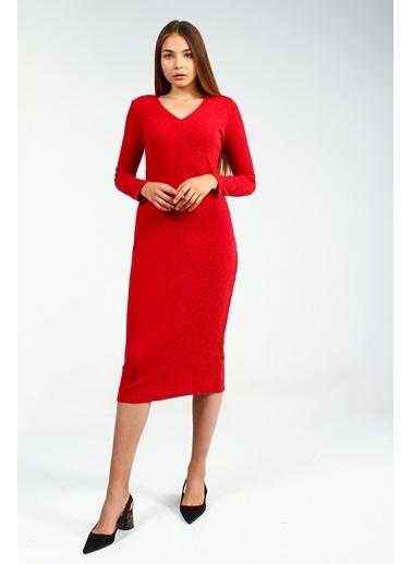Collezione Elbise Kırmızı